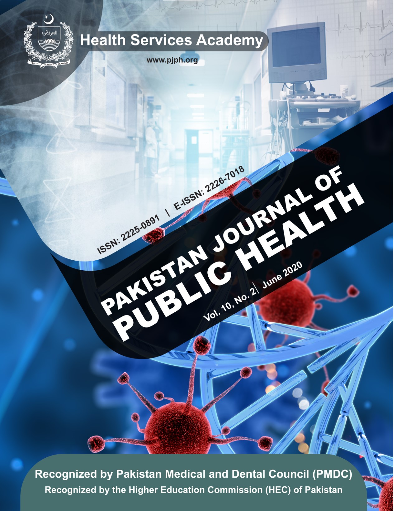 View Vol. 10 No. 2 (2020): Pakistan Journal of Public Health