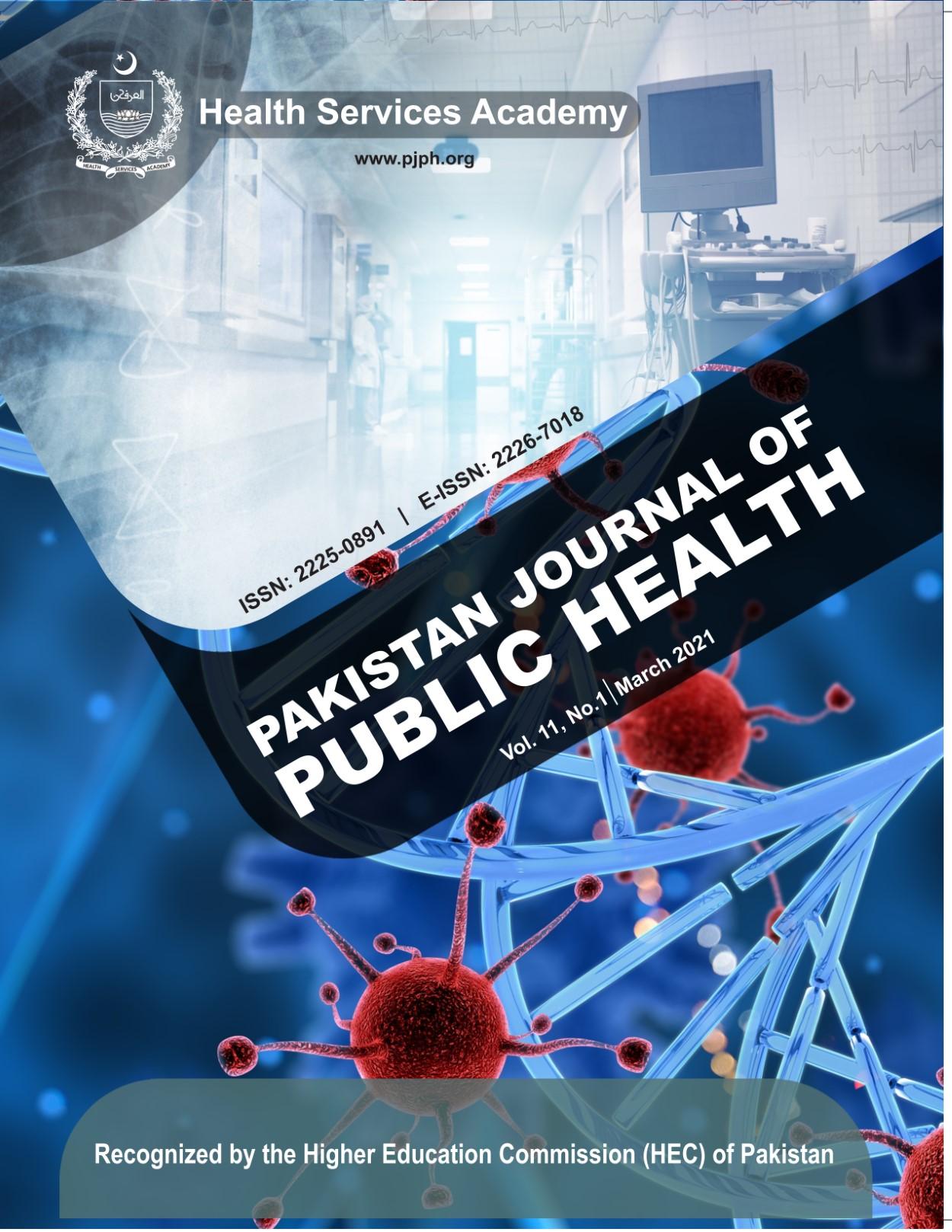 View Vol. 11 No. 1 (2021): Pakistan Journal of Public Health