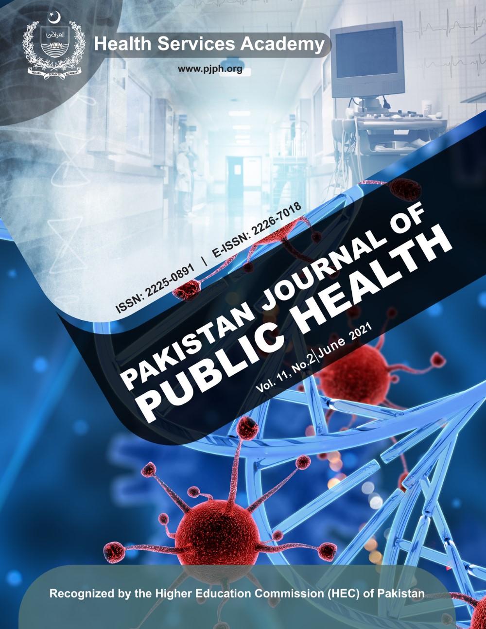 View Vol. 11 No. 2 (2021): Pakistan Journal of Public Health